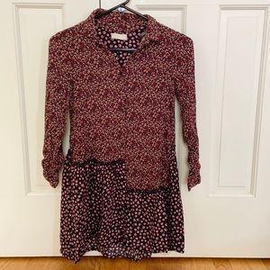 Zara Girls Pocket Floral Dress / Tunic - 11/12
